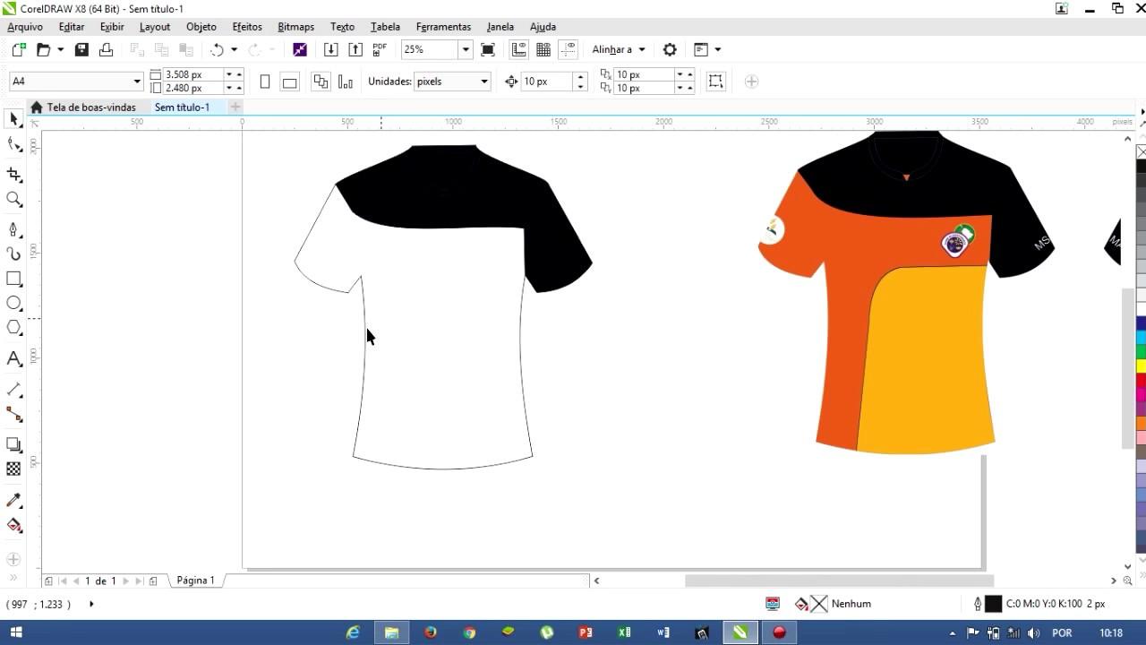 Layout Camisa