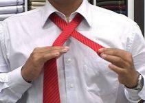 Nó simples de gravata